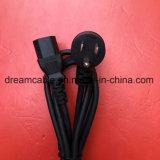 La inversión de UL NEMA 5-15P Cable de alimentación con el extremo pelado