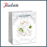 Glossy Laminated Art Paper Wedding Flowers Shopping Gift Paper Bag