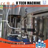 Botella de alta velocidad del animal doméstico con la máquina de rellenar del agua mineral