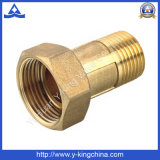 Ajustage de précision en laiton de couplage de pipe de mètre d'eau (YD-6012)