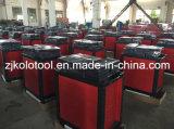 комплект инструмента вагонетки инструмента 220PCS Kraftwelle, механически имена инструментов, шкаф резцовой коробка