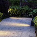 Acero inoxidable del LED del césped de la lámpara de la luz ahorro de energía del jardín