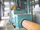 2017 Hot Sale convoyeur à rouleaux en acier de la surface du tuyau de grenaillage (QGW) de la machine de nettoyage