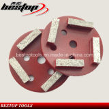 D100mm Diamond Concrete and Stone abrasif disque polissage roue