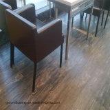 Plancher en bois de cliquetis de vinyle commercial de PVC