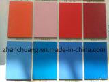 훈장과 가구를 위한 순수한 색깔 높은 광택 UV 섬유판