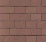 Unfading赤いスレートの屋根瓦
