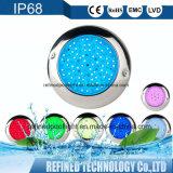 Voyant LED en acier inoxydable Spa Piscine pour enfants de lumière de couleur RVB 12V de couleur blanche