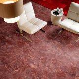 Verglaasde het hoogtepunt poetste Rode Marmeren Tegel 600X600mm van de Vloer van het Exemplaar op