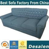 オフィス用家具(805#)のための工場卸売価格1+2+3様式の組合せのソファー