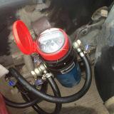 ローカル機械表示およびパルス出力機構のディーゼル機関車の燃料の流れメートル