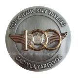 Paltingの二重終わりを用いる製造の記念品の挑戦硬貨