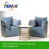 Veludo clássico estilo americano Cadeira de Lazer situado mobiliário para o hotel e Home