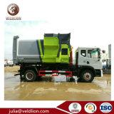Camion di Dongfeng Tianjin Hooklift con la stazione mobile 5cbm del costipatore dei rifiuti al contenitore dell'immondizia 20cbm