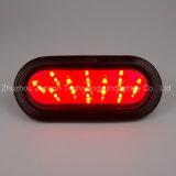 """고품질 6 """" 타원형 LED 정지 테일 회전 램프 SAE 트럭 트레일러 램프"""