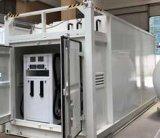 Stazione di servizio mobile con l'erogatore del combustibile