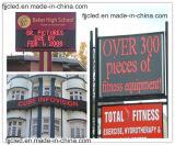 Scheda rossa programmabile esterna del segno del messaggio di pubblicità del testo LED