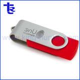 Azionamento dell'istantaneo del USB della parte girevole di Pendrive del tornado del metallo con il marchio del laser