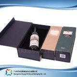 Papel de alta calidad personalizado mejor caja de vino para regalo (xc hba-012)