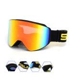 El bastidor de TPU deportes al aire libre prescripción de gafas de seguridad Protección ocular Gafas de esquí Snowboard