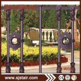 装飾のための装飾用の金属のアルミニウム庭の塀の機密保護の鋼鉄塀