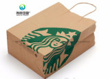 Prix bon marché de l'impression personnalisée Whoelsale célèbre marque de l'emballage cadeau sac de papier
