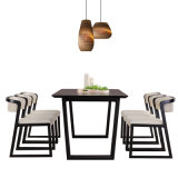 Muebles de Comedor modernos de madera silla Restaurante establecido para el hogar
