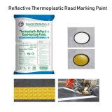 Hot-Sale Gros éclat de haute qualité dans l'obscurité de la route de la peinture de marquage réfléchissant thermoplastique