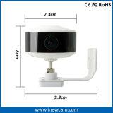 Amplio ángulo de 720p WiFi cámara IP inalámbrica por infrarrojos para la seguridad del hogar