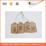 China de alta calidad de papel personalizados baratos vaqueros Hang Tag
