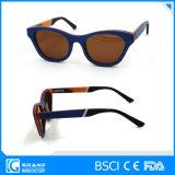 Zonnebril de Van uitstekende kwaliteit van het Bamboe van Morgan Eyewear van Chelsea met Geval