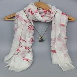 Сплетенный печатание шарф маркизета крана, 100%Polyester шарф, шали способа
