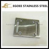 ステンレス鋼の正方形の手すりの床のフランジ