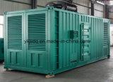 Generador diesel eléctrico de la potencia silenciosa portable del envase de Cummins Engine 360kw/450kVA