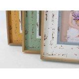 Blocco per grafici antico di legno della foto per la decorazione domestica