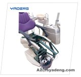 Электрический зубоврачебный блок стула с задним люнетом формы u