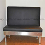 Оптовая будочка черноты мебели трактира с основанием металла (SP-KS150)