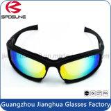 Acolchado de alta resistencia al impacto de la policía las gafas de motocicleta de la moda de los hombres con estilo Tactical gafas de sol