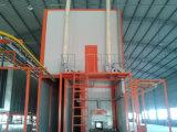 Cabina de la capa del polvo con el consumo de energía inferior