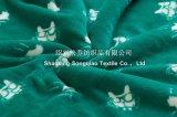 Polyester imprimé Sherpa polaire couverture / couverture bébé