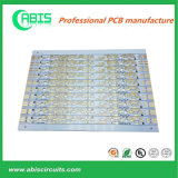 PCB алюминия золота погружения для света СИД
