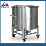 Tanque de armazenamento de aquecimento móvel em aço inoxidável Fuluke