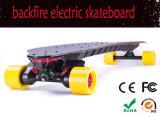 Bambú nuevo eléctrico de Maple Skate Longboard ruedas de cubierta