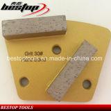 Алмазные резцы трапецоида Bestop для покрывать удаление и конкретный молоть