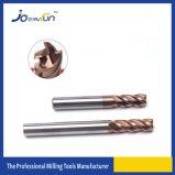 4개의 플루트는 금속을%s 반경 끝 맷돌로 가는 절단기를 모서리를 낸다