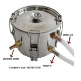 Kingsunshine 10L/3gal steuern Gebrauch-kupferne Destillation-Gerätmoonshine-Stille automatisch an