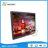 Fabbrica 1024X768 poco costoso all'ingrosso blocco per grafici della foto di 15 Digitahi di pollice con il driver del USB