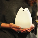 Lampe de nuit LED Cute Kitty pour enfants