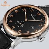 Polshorloges van het Leer van het Horloge van Automaticmen van het Merk van de luxe de Echte Waterdichte Toevallige voor de Sport Relojes 72288 van de Mens