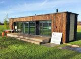 casa pré-fabricada modular do contentor de 40FT para acampar